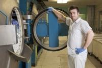 Blanchisserie lavage à l'eau froide Ozone