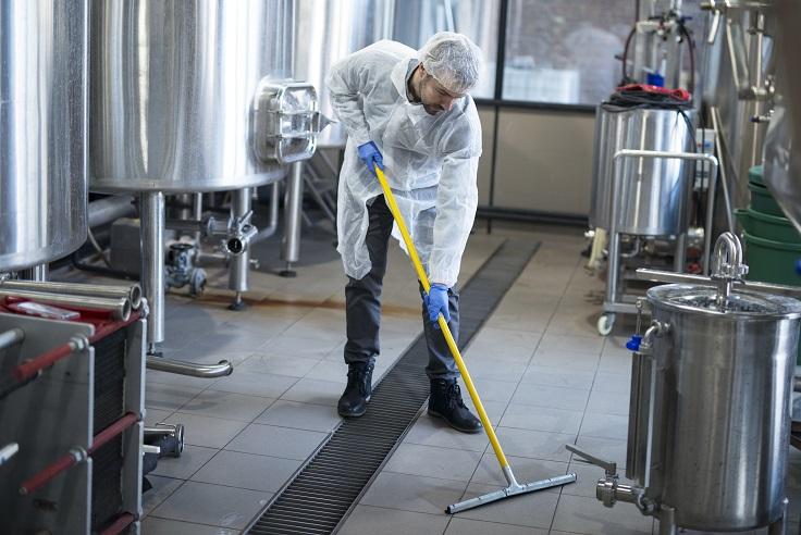 Nettoyage et désinfection industriel industrie agroalimentaire et cosmétique