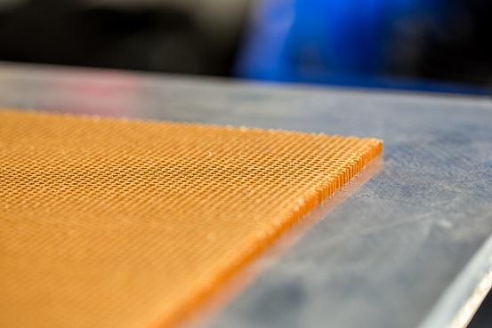 Nid d'abeille - panneau composite