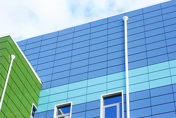 revêtement de bâtiments panneaux composites