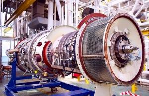 oil turbine engine